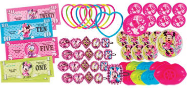 Minnie Mouse Favor Value Pack with 48 pieces