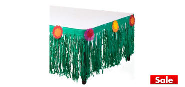Fiesta Tissue Table Skirt