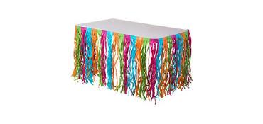 Multicolor Grass Table Skirt