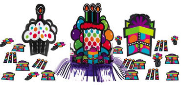 Party On Table Decorating Kit 23pc