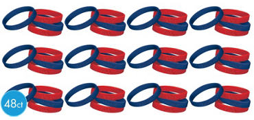 Patriotic Wristbands 48ct