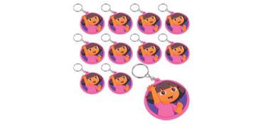 Dora the Explorer Keychains 24ct