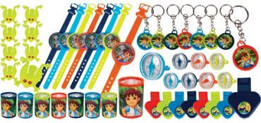 Go, Diego, Go! Favor Pack 48pc