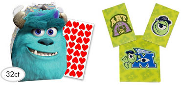 Monsters University Valentine Exchange Cards 32ct