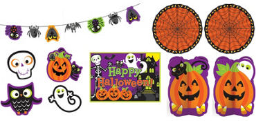Cute Halloween Room Decorating Kit 10pc