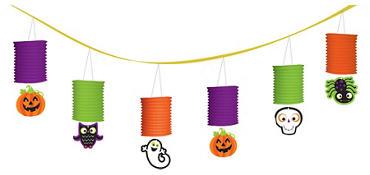 Halloween Paper Lantern Garland