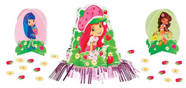 Strawberry Shortcake Centerpiece Kit 23pc