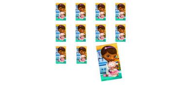 Jumbo Doc McStuffins Stickers 24ct