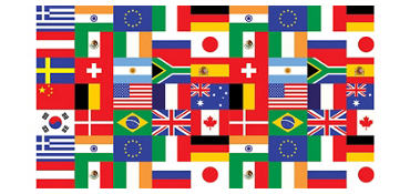 International Flag Party Supplies