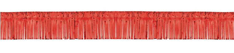 Red Fringe Garland