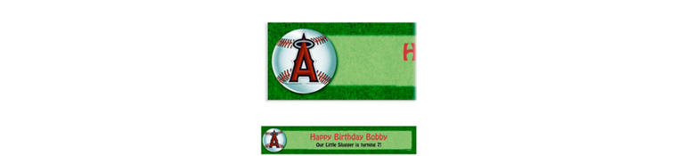 Los Angeles Angels Custom Banner 6ft