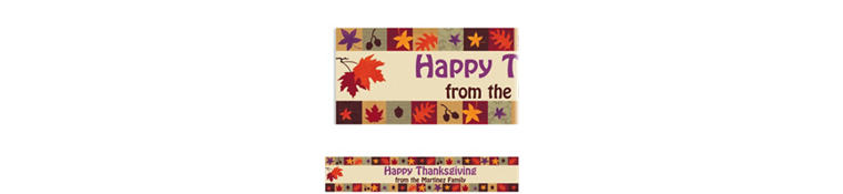 Custom Classical Fall Banner 6ft