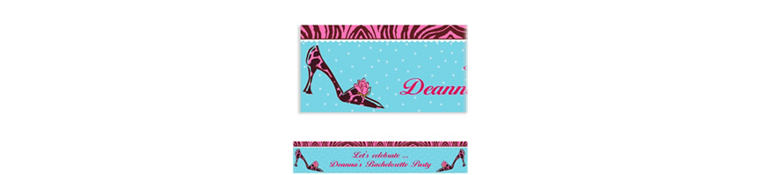 Custom Party Purse Banner 6ft