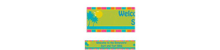 Custom Summer Dreams Banner 6ft