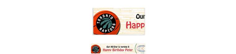 Custom Toronto Raptors Banner 6ft