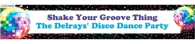 Custom Disco Fever Banner 6ft
