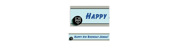 Los Angeles Kings Custom Banner