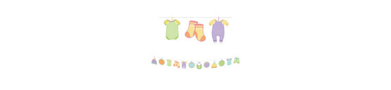 Baby Shower Banner Activity Kit