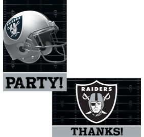 NFL Oakland Raiders Party Supplies - Party City