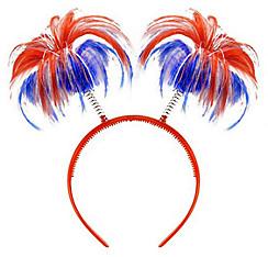 Red, White & Blue Head Bopper