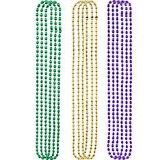 Mardi Gras Bead Necklaces 120ct