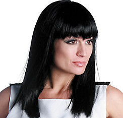 Eden Premium Shoulder-Length Black Wig