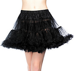 Adult Black Tulle Petticoat