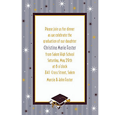 Custom Grad Honors Invitations