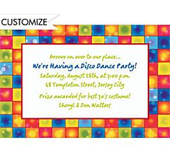 Custom Flashback Fever Invitations