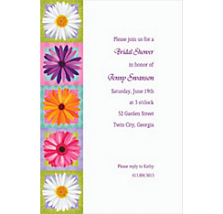 In Bloom Custom Invitation