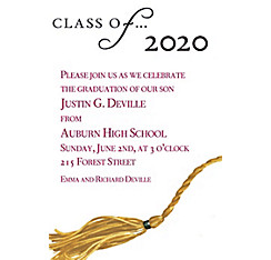 Custom Class Of… Graduation Invitations