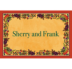 Thanksgiving Medley Custom Thank You Note