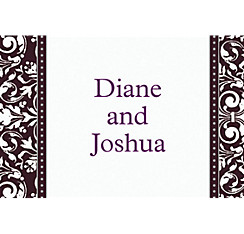 Custom Formal Affair Thank You Notes
