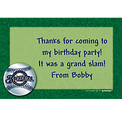 Milwaukee Brewers Custom Thank You Note