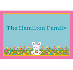 Easter Friends Custom Thank You Note