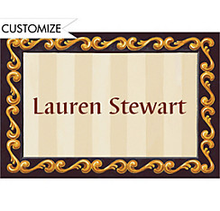 Custom White Grad Portrait Thank You Notes