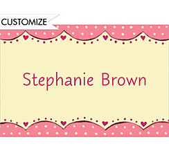Array of Bouquets Custom Wedding Thank You Note