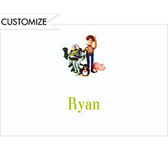 Woody, Buzz & Friends Custom Thank You Note