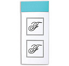 Monogram Envelope Seals F 30ct