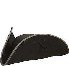 Deluxe Black Pirate Hat