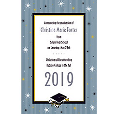 Custom Grad Honors Announcements
