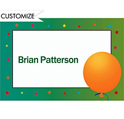 Life is Great 50 Custom Thank You Note