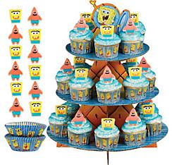 SpongeBob Cupcake Kit for 24