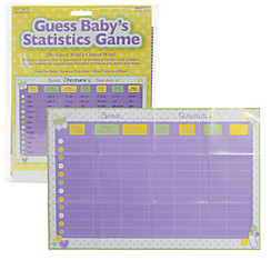 Guess Baby's Stats Baby Shower Game