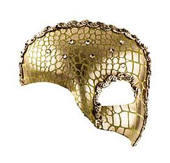Idyllic Gold Half Mask