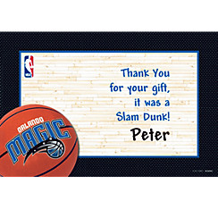 Orlando Magic Custom Thank You Note