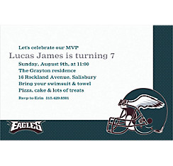 Philadelphia Eagles Custom Invitation