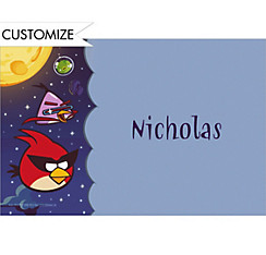 Angry Birds Space Custom Thank You Note