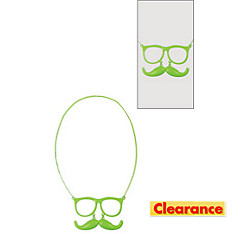 Glasses and Moustache Necklace