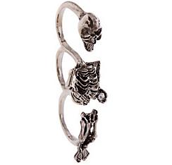 Three Finger Skeleton Ring